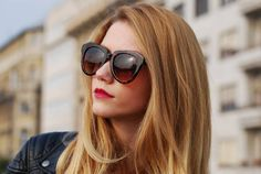 Fifty Pairs of Shoes: OVERSIZE DESIGNER INSPIRED WOMENS FASHION SUNGLASSES 8445
