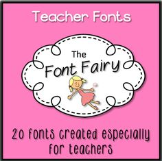 {Free} 20 Teacher Fonts