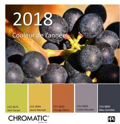 Le Bleu Corinthe CH1 0835, couleur de l'année 2018 CHROMATIC®, saura mettre en lumière toutes les déco et toutes les couleurs que vous lui associerez. www.chromaticstore.com