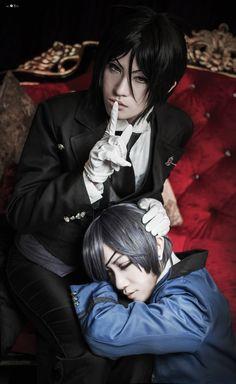 Ciel Phantomhive, Shiki YAMASHITA(Shiki Yamashita) Sebastian Michaelis Cosplay Photo - WorldCosplay