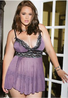 Mad About Mauve Babydoll