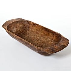 naturally worm wooden basin