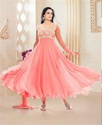 Shop Online for Designer Salwar Kameez in Different Colors like Gray, White, Red, Orange and more. We promise to make you Gorgeous with Designer Salwar Kameez Anarkali Churidar, Anarkali Dress, Pakistani Dresses, Indian Dresses, Indian Outfits, Salwar Kameez, Anarkali Suits, Indian Clothes, Punjabi Suits