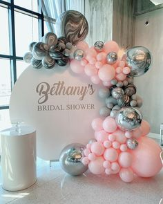 Perfect backdrop for Via - Swooning over this classic marble and pink combo. Balloon Tassel, Balloon Garland, Balloon Decorations, Birthday Party Decorations, Party Themes, Wedding Decorations, Birthday Parties, Beauty Party Ideas, Best Birthday Surprises