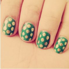 Happy St. Patrick's Day Nails. Building Blocks Pediatric Dentistry - pediatric dentist in Quakertown, PA @ www.buildingblocksdental.com