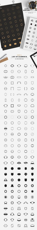 920 Logos Mega Bundle by DesignDistrict on @creativemarket