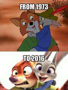 "From ""Robin Hood"" to ""Zootopia"""