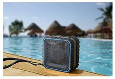 Splash waterproof Bluetooth speaker - awesome for summer.