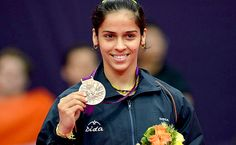 Saina Nehwal added another medal to the Indian tally with her bronze in the women's singles badminton tournament at the London Olympics India now has the same number of medals as the 2008 Beijing Games. Olympic Medals, Olympic Games, Women's Badminton, Web Girls, Sports Celebrities, Number Two, Sports Women, Female Sports