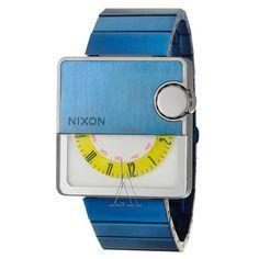 Nixon Men's The Murf Watch $259 #watch #watches blue bracelet