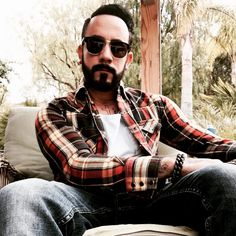 And nothing, NOTHING, beats this man in a plaid shirt. | We Need To Talk About The Backstreet Boys