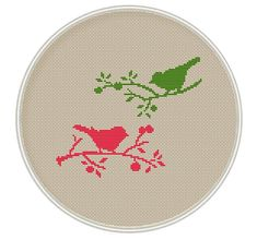 Bird Cross stitch pattern cross stitch PDF por MagicCrossStitch