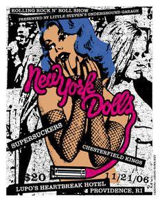 New York Dolls.....