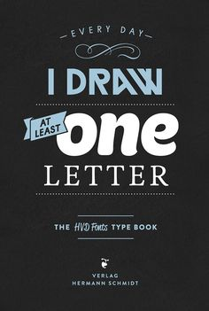 The HVD Fonts Type Book on Behance