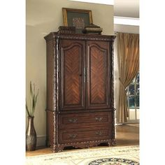 Bedroom Wardrobe TV Entertainment Center Armoire  Prepac For the Home SEARS