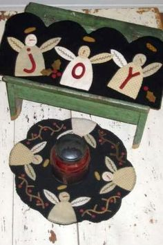red+rooster+candle+mat | sugar plum candle mat table runner patterns sugar plum candle mat ...