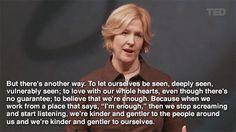 Vulnérabilité par Brené Brown  | I Want to See Me Be Brave ♥ | moicommejesuis.blogspot.com