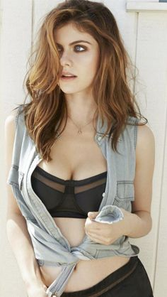 Alexandra Daddario. The angel cast out of heaven for being hot as hell. LUV YA!