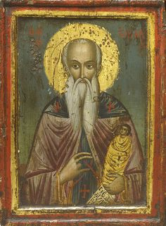 Detailed view: Saint Stylianos- exhibited at the Temple Gallery, specialists in Russian icons Buffalo Animal, Church Icon, Russian Icons, Best Icons, Byzantine Art, Religious Icons, Orthodox Icons, Religion, Art History
