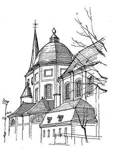 Liège, église St-Jean by gerard michel, via Flickr