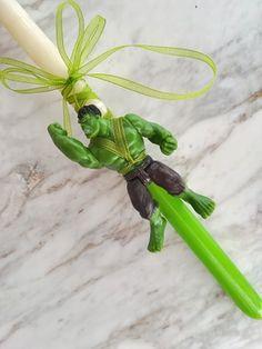 λαμπάδες πασχαλινές για αγόρια και κορίτσια με όλους τους ήρωες της marvel hulk wonderwoman Parsley, Celery, Herbs, Vegetables, Food, Essen, Herb, Vegetable Recipes, Meals