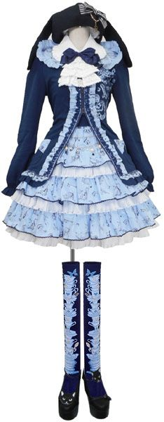 Japanese Lolita Style Fashion