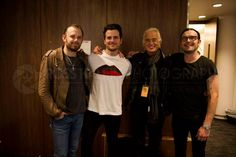 Jimmy Page with Kings of Leon 6-2013.  Photo by Ross Halfin.  I don't know but...69 1/2 never looked so smokin hot.