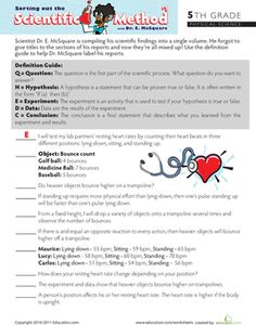 Worksheet Mythbusters Scientific Method Worksheet the ojays worksheets and quizes on pinterest fifth grade comprehension physical science sort out scientific method 1