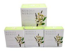 Neroli Neroli (Orange Blossom) Soap Bar Collection by LErbolario Lodi (3 - 3.5oz Soap Bars)