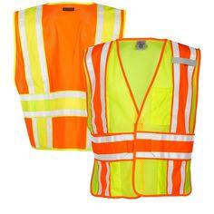 8889e2f9814 ML Kishigo 1166 1167 4-Season Adjustable Class 2 Mesh Safety Vests