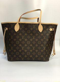 486cd5f34c02 Louis Vuitton Neverfull MM Tote Bag M41178 Lv Tote, Louis Vuitton Neverfull  Mm, Gucci