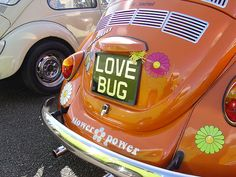 #VWBeetle Love Bug