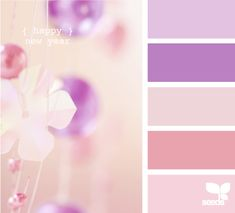 """Happy new year"" color pallet"