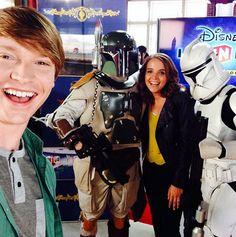 Photo: Calum Worthy At San Diego Comic-Con With Disney Infinity July 10, 2015 - Dis411