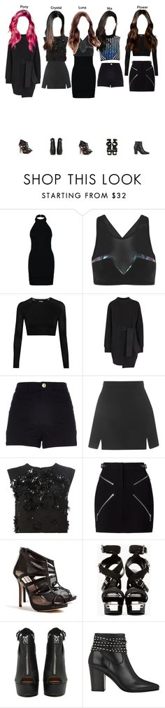 """DNA GENE Concept Inspired"" by secret-gxrden ❤ liked on Polyvore featuring Miss Selfridge, Lucas Hugh, David Koma, Ivy Park, Proenza Schouler, River Island, Topshop, MSGM, Alexander Wang and Lucy Choi London"