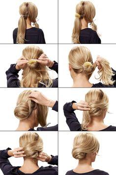 Die 110 Besten Bilder Von Haare Hochstecken Hair Makeup Coiffure