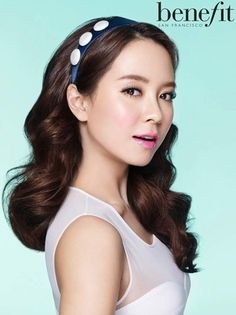 Song Ji Hyo gets ready for spring with different looks for 'Benefit'
