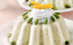 Indian Independence Day: Pistachio Panna Cotta: