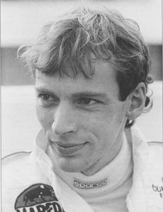 Stefan Bellof(D) Born 20, November 1957, Died 1, September 1985. Killed @ Spa-Francorchamps, Belgium. during World Group C 1000KM Event.