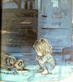 """The Christmas Kitten"" Illustration by Komako Sakai I Wish You a Merry Christmas Art And Illustration, Illustrations And Posters, Whimsical Art, Cat Art, Book Art, Street Art, Kawaii, Art Prints, Drawings"