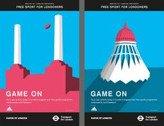 First ads of the Mayor of London Olympic activity.