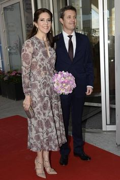 MyRoyals:  100th Anniversary of the Danish Constitution, Copenhagen, June 4, 2015-Brown Prince Frederik and Crown Princess Mary