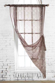 Balizigza Curtain in Grey