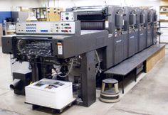Printing presses today are controlled by computers and are faster than the Gutenberg Press because of the advancement in technology.
