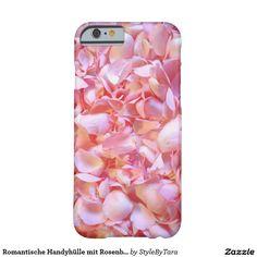 Romantische Handyhülle mit Rosenblättern Barely There iPhone 6 Hülle