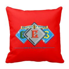 Order of the Eastern Star OES Throw Pillow