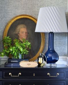"S T E V E  C O R D O N Y on Instagram: ""💙💚 @thepoloproject @michelleholdenphoto @rosedale_farm Lamp @bragg.co #stevecordonystyling"" Desk Lamp, Table Lamp, English Farmhouse, Lamp Bases, Mid Century, Blue And White, Living Room, Lighting, Wallpaper"