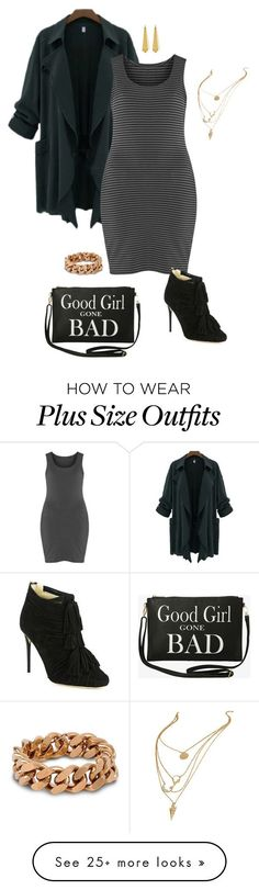 """""""Girl can't help it- plussize"""" by gchamama on Polyvore featuring Boris, Jimmy Choo, Torrid, STELLA McCARTNEY and Panacea"""