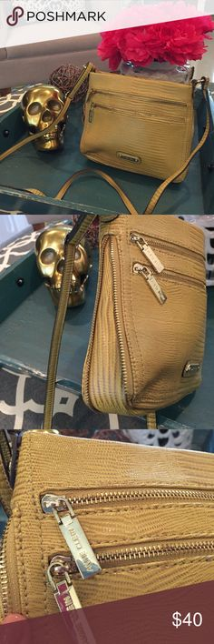 Anne Klein chartreuse crossbody w/ zipper detail 🎉OFFERS WELCOME 🎉 Anne Klein chartreuse lizard-embossed crossbody bag with gold zipper details. Adjustable strap. Used twice on vacation. Perfect condition! Anne Klein Bags Crossbody Bags