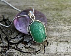 Dharmashop.com - Jade Stone Buddha Pendant, $98.00 (http://www.dharmashop.com/jade-stone-buddha-pendant/)
